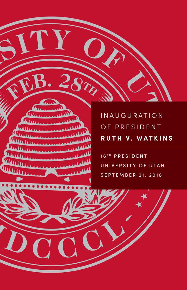 Inauguration of President Ruth V. Watkins 2018